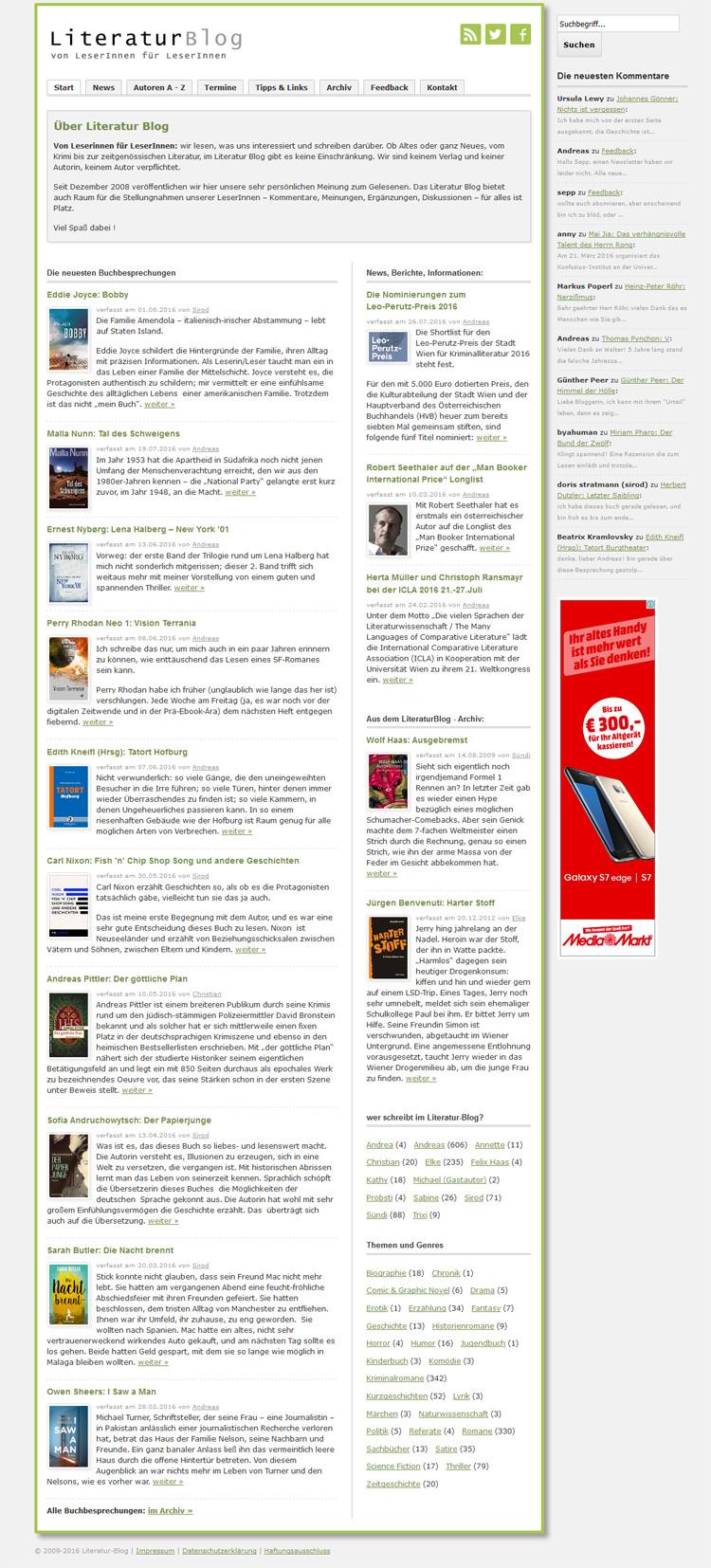 LiteraturBlog