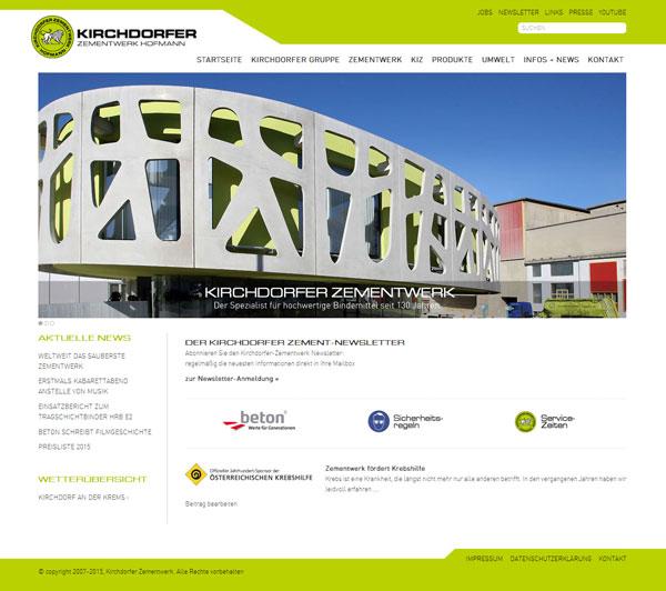 Kirchdorfer-Zementwerk