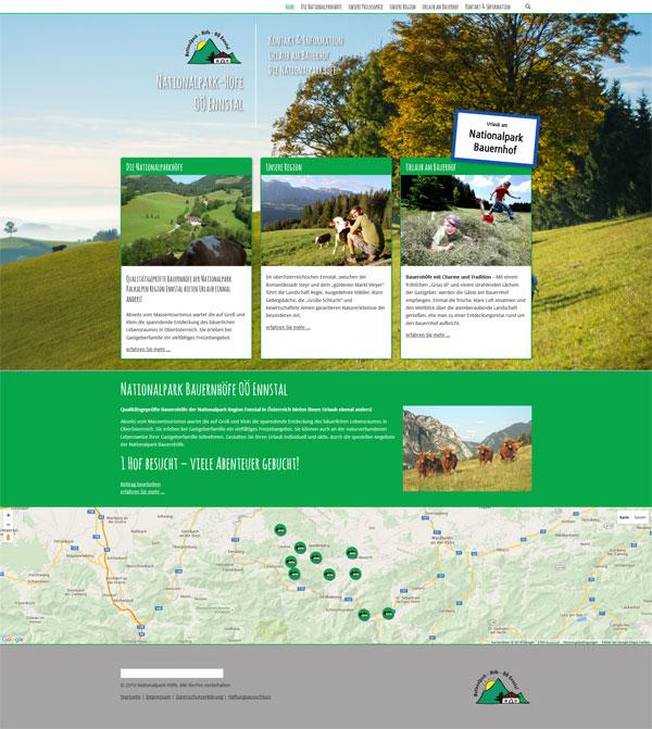 Nationalpark Bauerhöfe