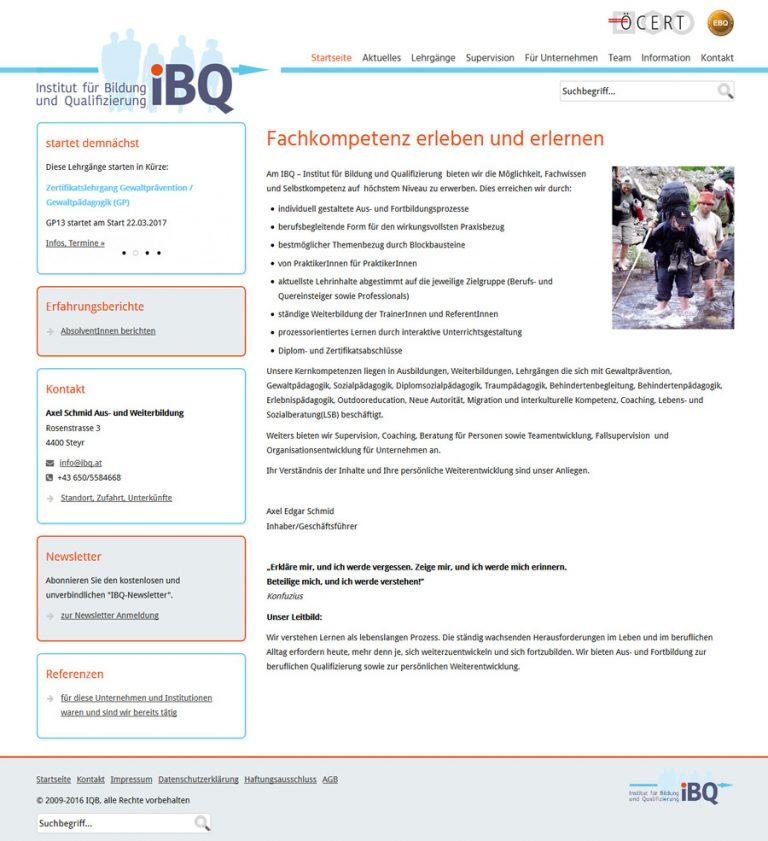 IBQ - Institut für Bildung und Qualifizierung